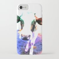 cow iPhone & iPod Cases featuring cow by Sarah Jane Connors