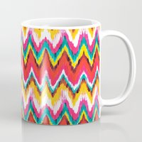 chevron Mugs featuring Chevron by Aimee St Hill