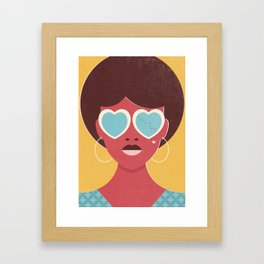 20/20 (1970s) Framed Art Print