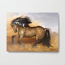 HORSE - Cherokee Metal Print