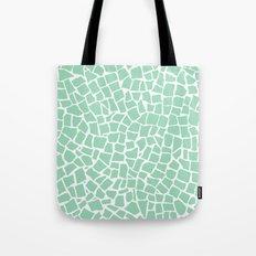 British Mosaic Mint Tote Bag