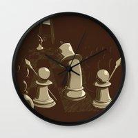 revolution Wall Clocks featuring Revolution! by sergio37
