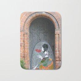 Lady in the Doorway : Art Deco Bath Mat