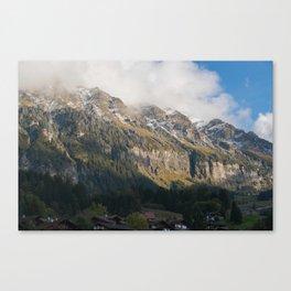 Wengen Switzerland Canvas Print