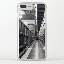 New York Public Library The Rose Reading Room 2 Clear iPhone Case