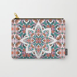 Flower with pattern Carry-All Pouch