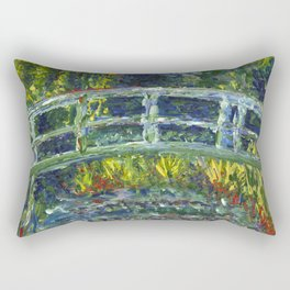 Monet Interpretation Rectangular Pillow