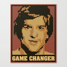 Game Changer Canvas Print