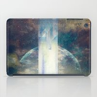 the fault iPad Cases featuring It´s your fault by HappyMelvin