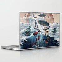 ice Laptop & iPad Skins featuring Holiday ice by Tanya_tk