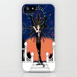 La Grande Vie Mardi Gras iPhone Case