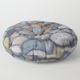 Watercolour relaxation Floor Pillow