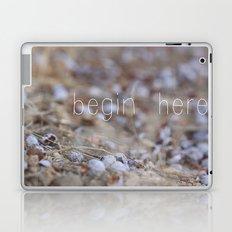 begin here. Laptop & iPad Skin