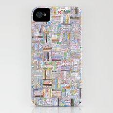 Public Transportation Slim Case iPhone (4, 4s)