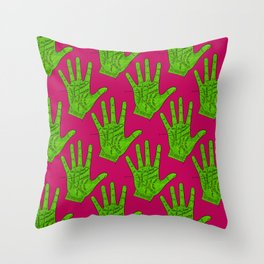 Palmistry Throw Pillow