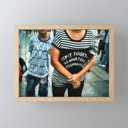 Keep It Together No Whatever Pissing You Framed Mini Art Print