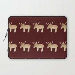 Reindeer queues #decor #buyart Laptop Sleeve