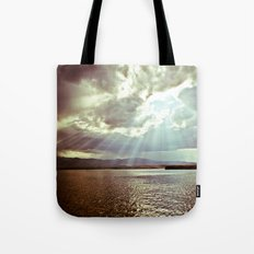 Sun Beams (Warm Tone) Tote Bag