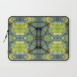 Simone in Blue and Green Laptop Sleeve