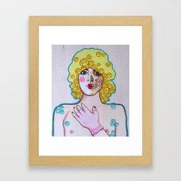 Glass House I Framed Art Print