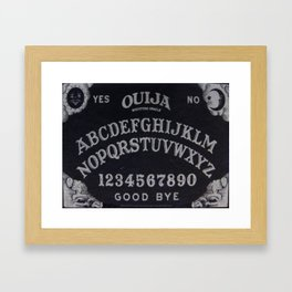 Ouija Board Framed Art Print