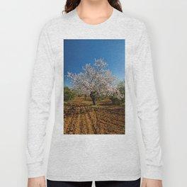 An Almond tree in flower Long Sleeve T-shirt