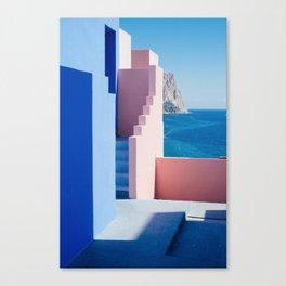 Colour architecture Canvas Print