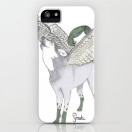 Zodiacal Chimera: The wolf iPhone Case