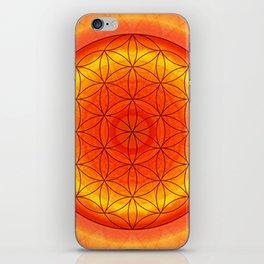 Mandala Flower of Life 2 iPhone Skin
