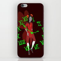 homestuck iPhone & iPod Skins featuring Maid of Time  by Paula Urruti