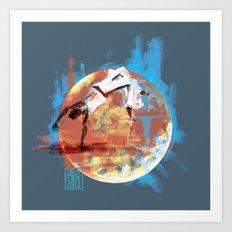 Capoeira 544 Art Print