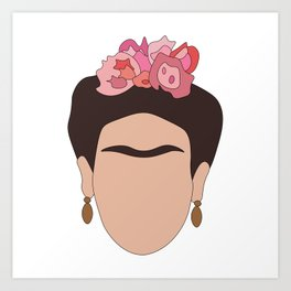 Fierce Frida Art Print