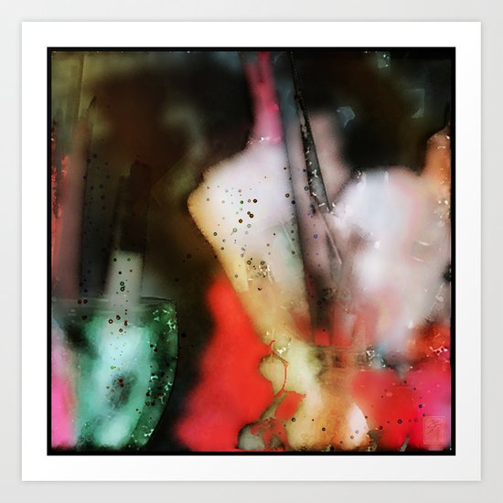 Breath Art #4  Art Print