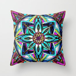 Hype Continues Throw Pillow