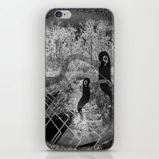 1000 days in the woods iPhone & iPod Skin