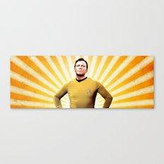 Oh Captain, My Captain Canvas Print