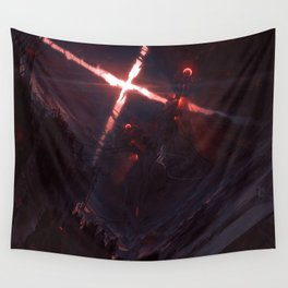 Iron Twins Wall Tapestry