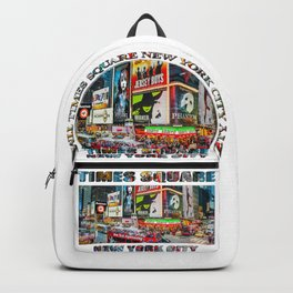 Times Square NYC (poster edition) Backpack