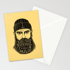 CALM SEAS NEVER MADE A SKILLED SAILOR Stationery Cards
