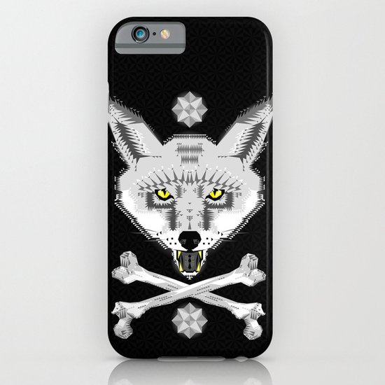 Silver Fox Geometric iPhone & iPod Case
