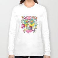 yetiland Long Sleeve T-shirts featuring celebración by ALVAREZ