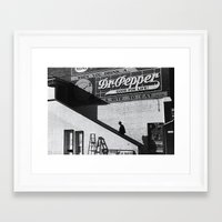 cinema Framed Art Prints featuring Cinema by Marquis de Noir