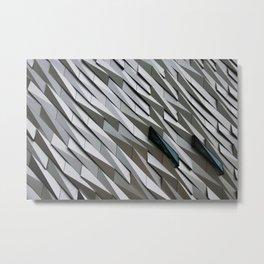 Building wall pattern Metal Print