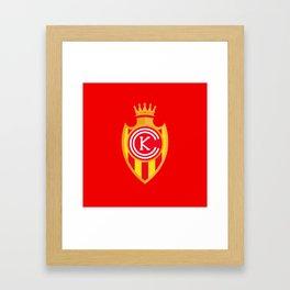 KCFC (Spanish) Framed Art Print