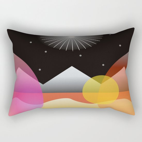 Solar Flares Rectangular Pillow