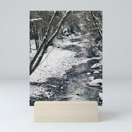 A Winter River Mini Art Print