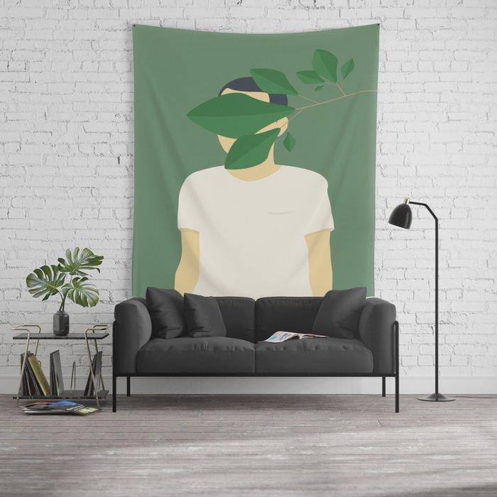 EN SMUK DAG I SKOVEN Wall Tapestry