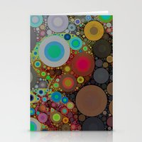 circles Stationery Cards featuring Circles by Olivia Joy StClaire