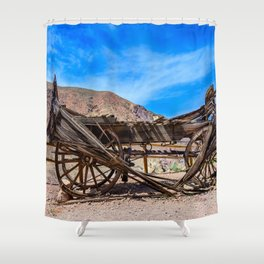 Calico Ghost Town - 7049, California Shower Curtain