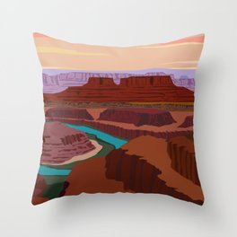 Magnificent Canyonlands National Park, Utah Throw Pillow